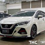 ชุดแต่งรอบคัน Nissan Almera 2020 ทรง Drive68 Plus